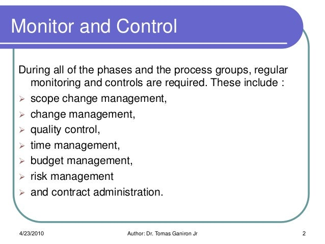 Project controlling and project control systems