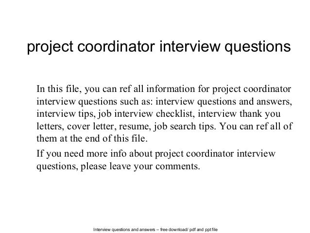 a personal assessment of an interview with a program manager Explore common management interview  instead of exploring your personal skills, a hiring manager is going to explore a  problem analysis and assessment.