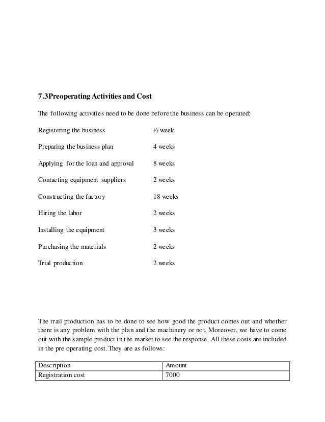 General freight trucking sample business plan