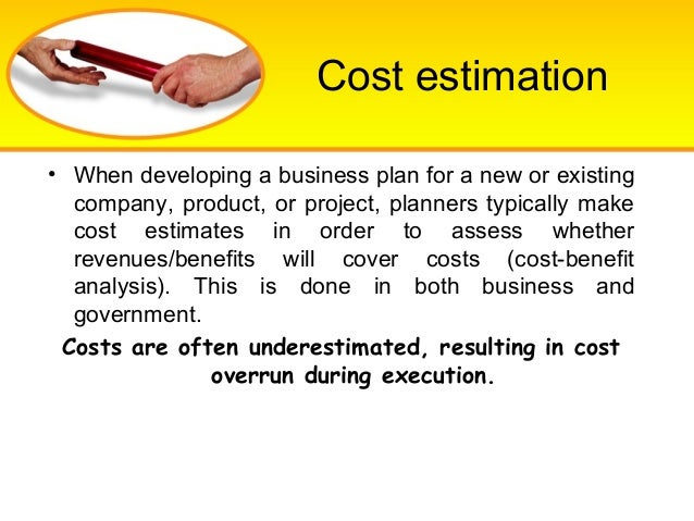 Business plan cost analysis