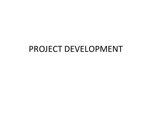Project development new1