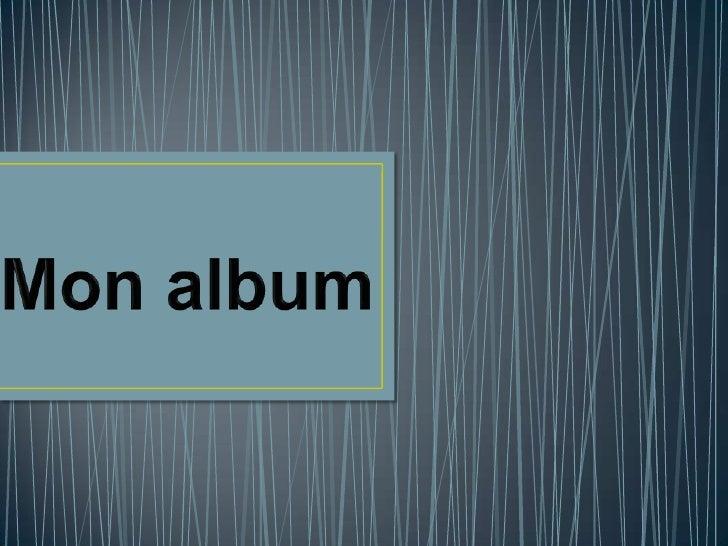 Mon album<br />