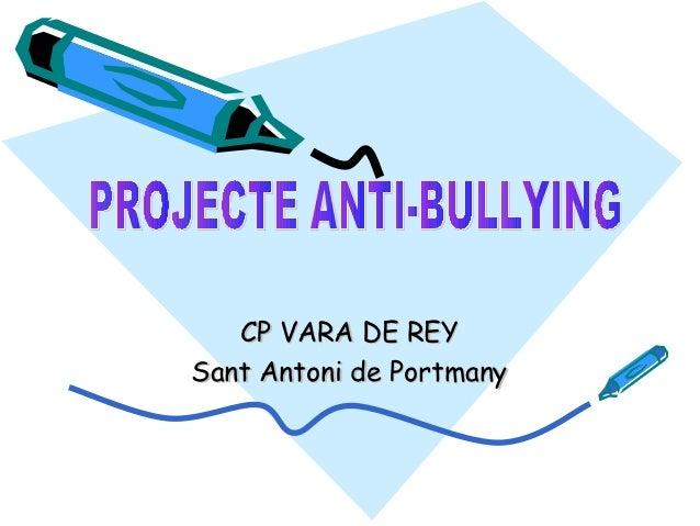 CP VARA DE REYSant Antoni de Portmany