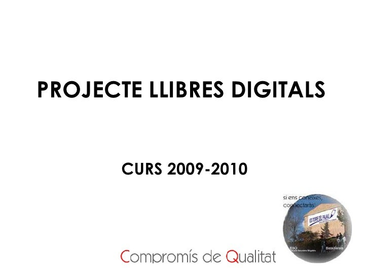 Presentació Projecte Educat 1x1 a famílies curs 2009-2010