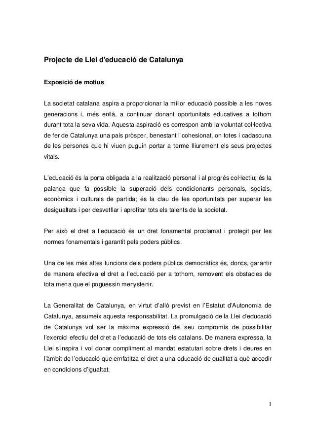 Projecte lec al_parlament._setembre_2008