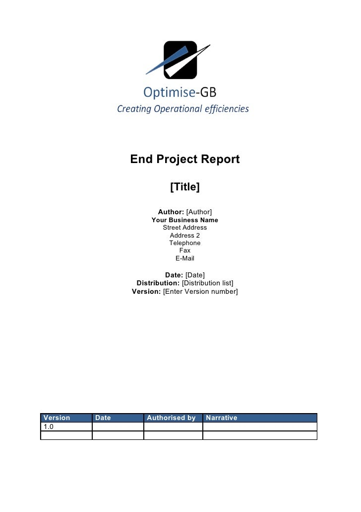 End Project Report                               [Title]                           Author: [Author]                       ...