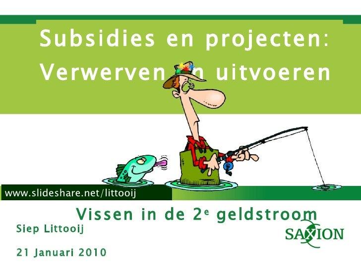 Projecten Verwerven 21 01 2010
