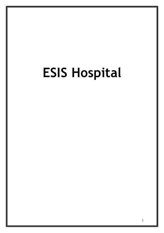 ESIS Hospital                1