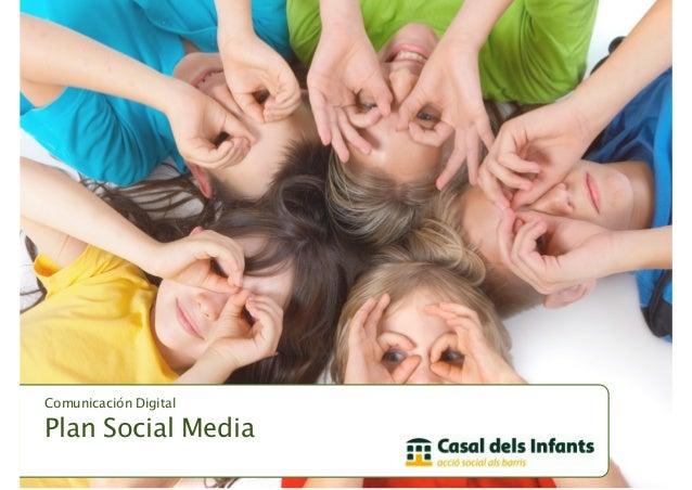 Plan Social Media Casal dels Infants del Raval