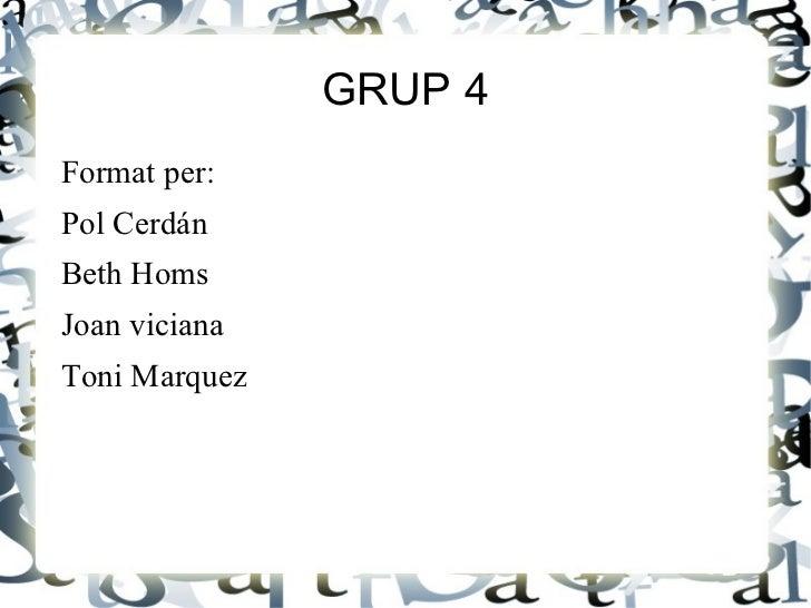 Projecte volcans 6 b grup 4