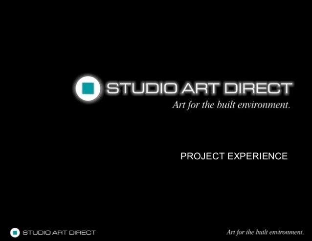 Studio Art Direct Project Experience 2013