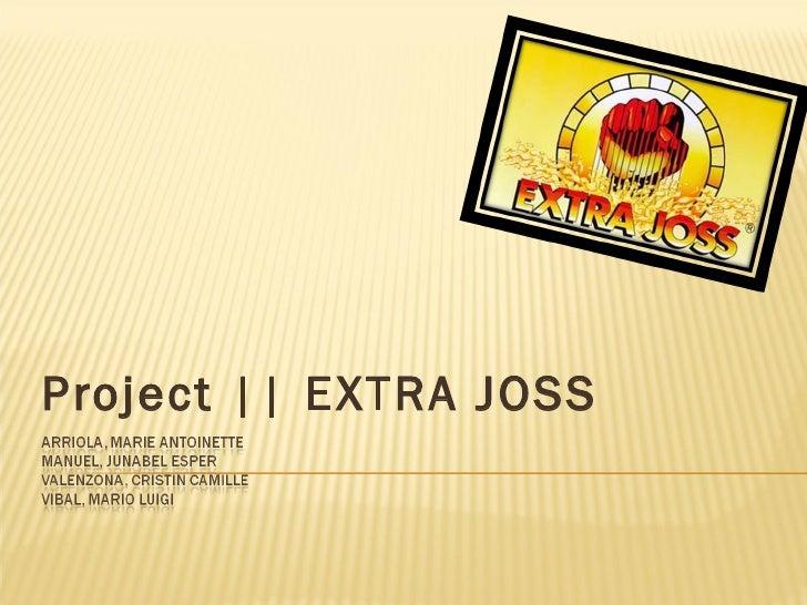 Project || EXTRA JOSS
