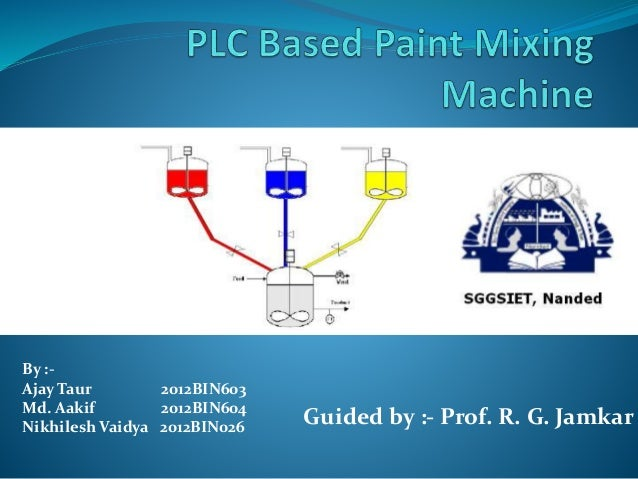Color Code For Mixing Paint