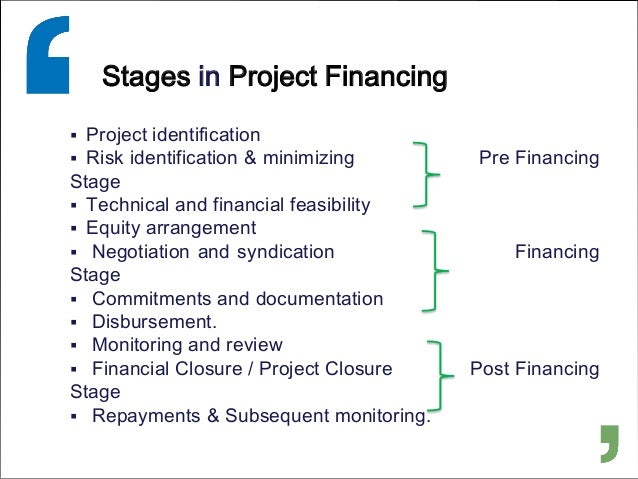 What You Need To Know About Project Financing