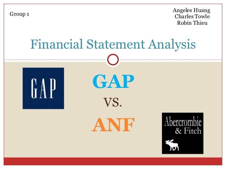 Project GAP vs ANF