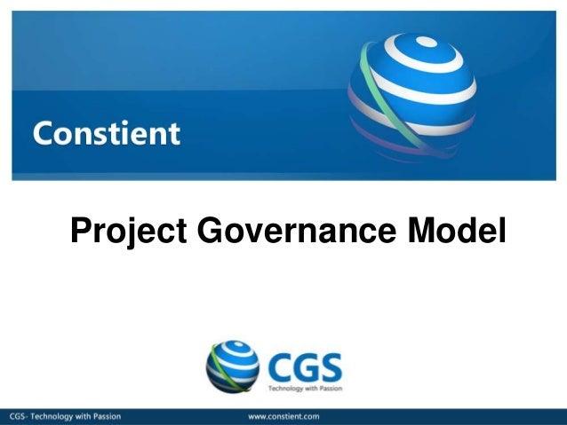Project Governance Model