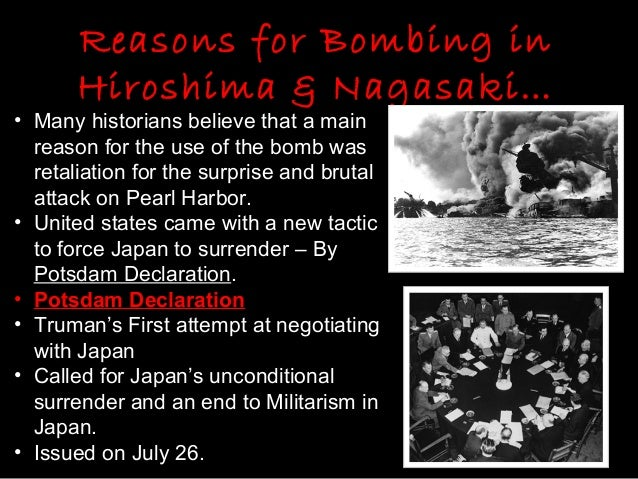 hiroshima bombing justified essay