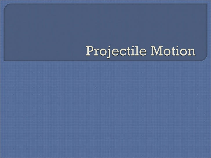 Projectile mail