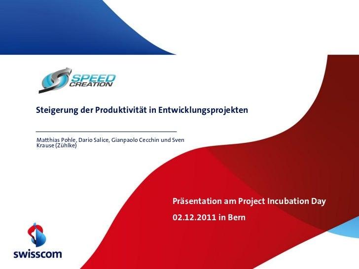 Steigerung der Produktivität in EntwicklungsprojektenMatthias Pohle, Dario Salice, Gianpaolo Cecchin und SvenKrause (Zühlk...