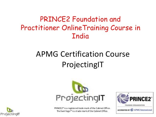 PRINCE2 online course in India