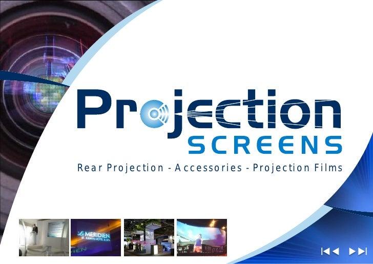 Projection Screens Ltd Brochure June 09