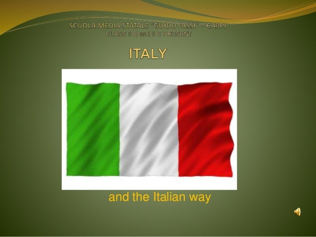 Project italy and emilia romagna