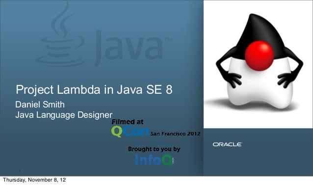 Project Lambda in Java SE 8