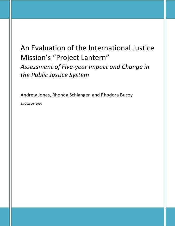 Project lantern impact_assessment