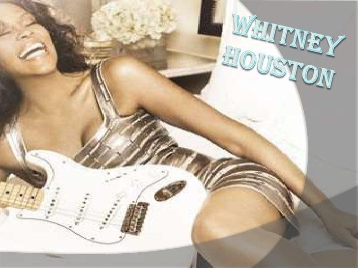 Whitney Houston presentation