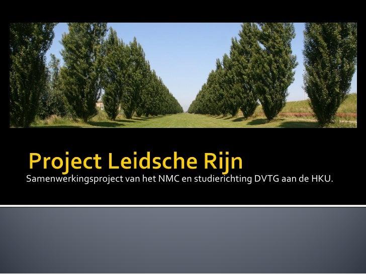 Samenwerkingsproject van het NMC en studierichting DVTG aan de HKU.