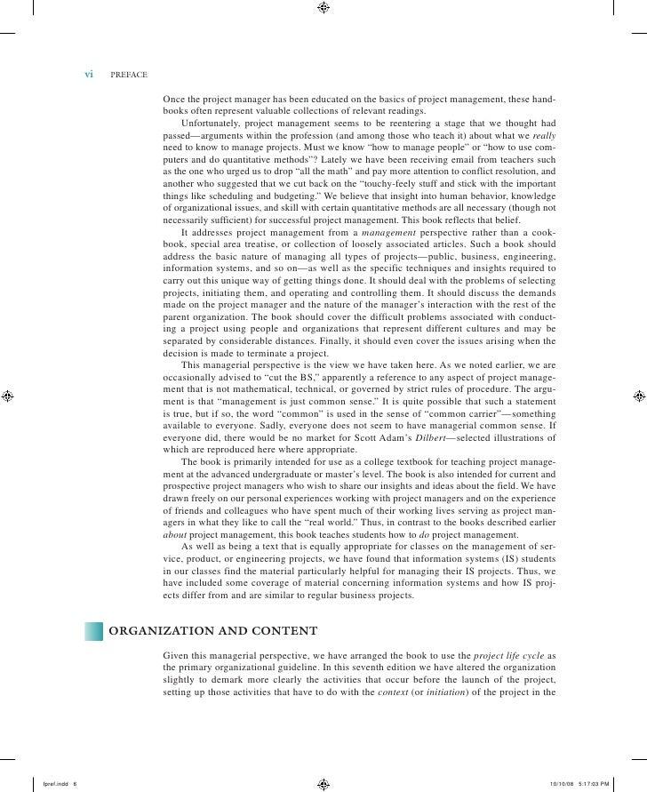 project management kerzner solution manual