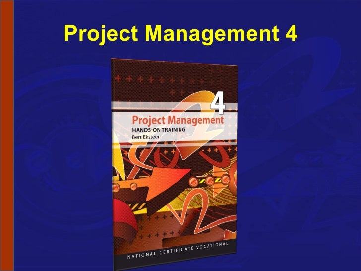 NCV 4 Project Management Hands-On Support Slide Show - Module 1