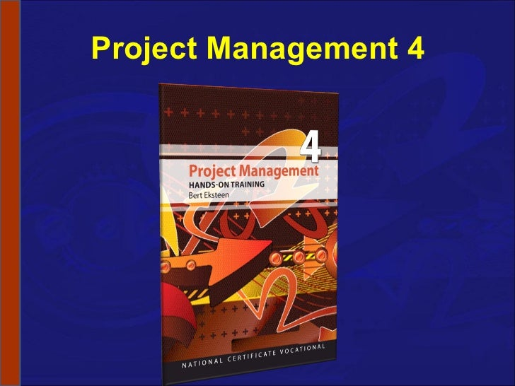 NCV 4 Project Management Hands-On Support Slide Show - Module 2