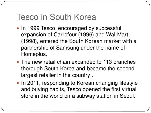 analysis of wal mart and tesco management essay Strategic management of tesco supermarket: pestle analysis, porter's 5   and has effectively scuppered wal-mart's chances of stealing uk leadership.