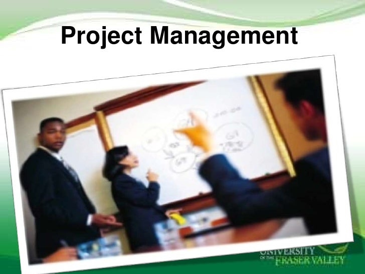 Project management and project life cycle