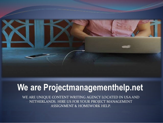 Project Management software Assignment Help and Homework Help