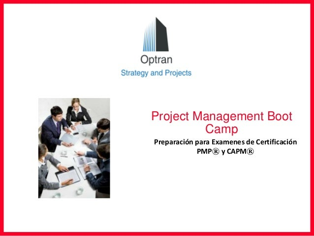 project management boot camp