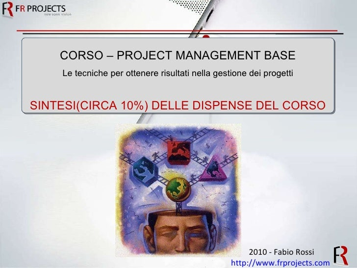 Project Management Corso Base Saggio