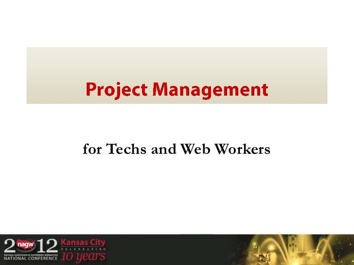 Project management for nagw