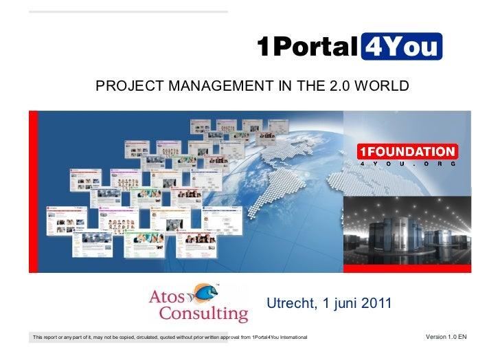 PROJECT MANAGEMENT IN THE 2.0 WORLD                                                                                       ...