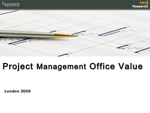 Project management office value