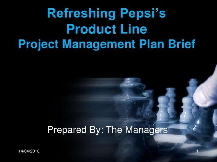 Project Management Pepsi