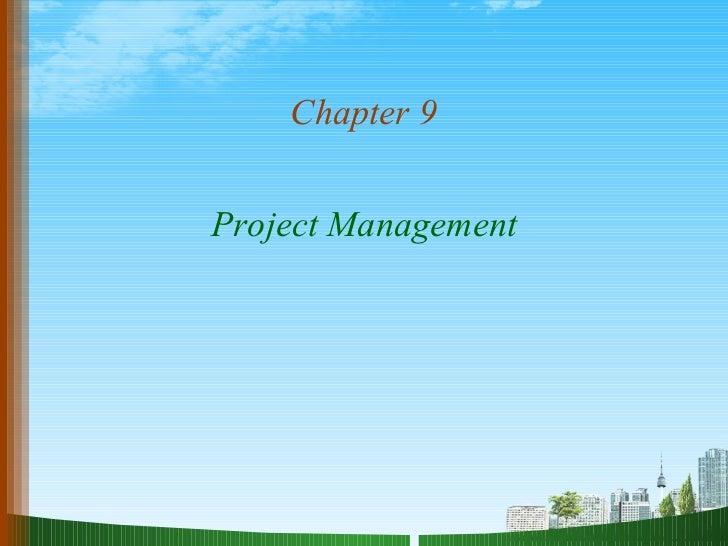 Project management@ ppt doms