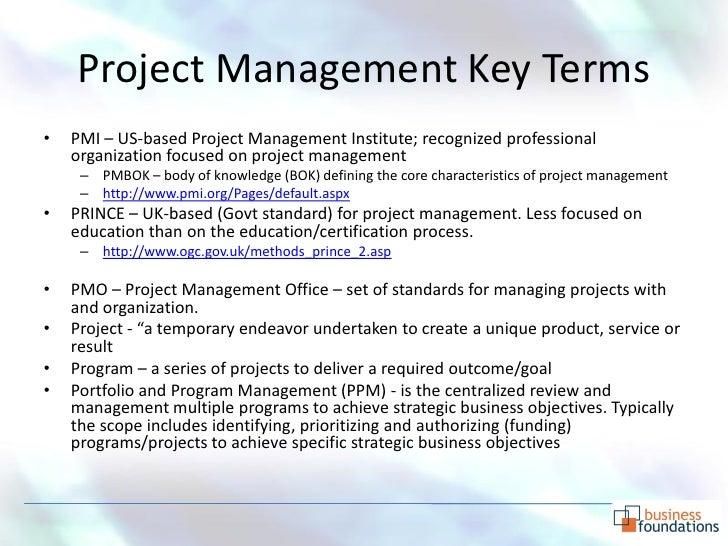 Project management primer