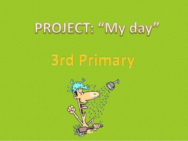 Project my day 3º