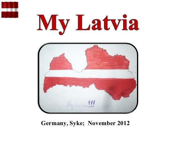 Project ''my latvia.''
