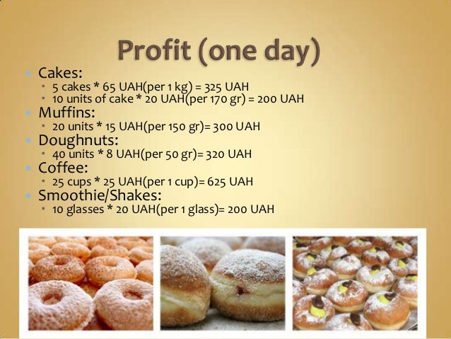 Operational Plan For Bakery Business