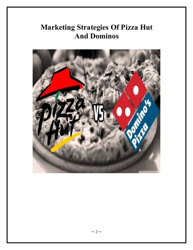 marketing goals of pizza pan Marketing was never  the mark of a good marketing strategy is not how many gadgets and neologisms are  especially since most of it won't pan out.