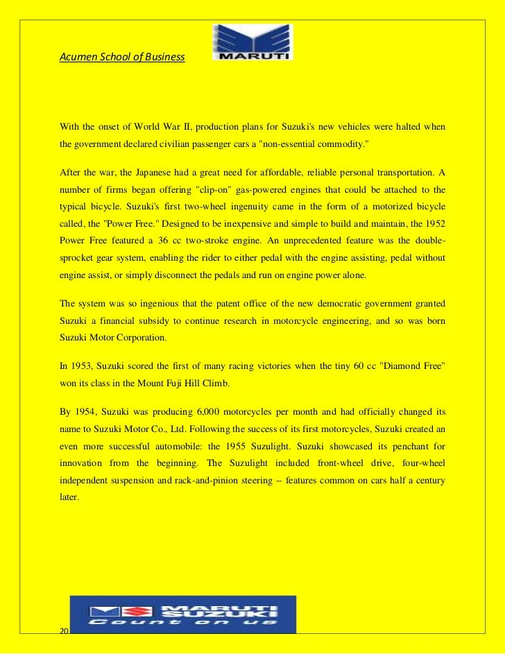 potential appraisal in maruti udyog Customer satisfaction survey of maruti udyog ltd history of maruti in 1970 , sanjay gandhi the son of indira gandhi envisioned the manufacture of an indigenous , cost effective , low maintenance compact car for the indian middle class  indira gandhi's cabinet passed a unanimous resolution for the development and production of a people's car.