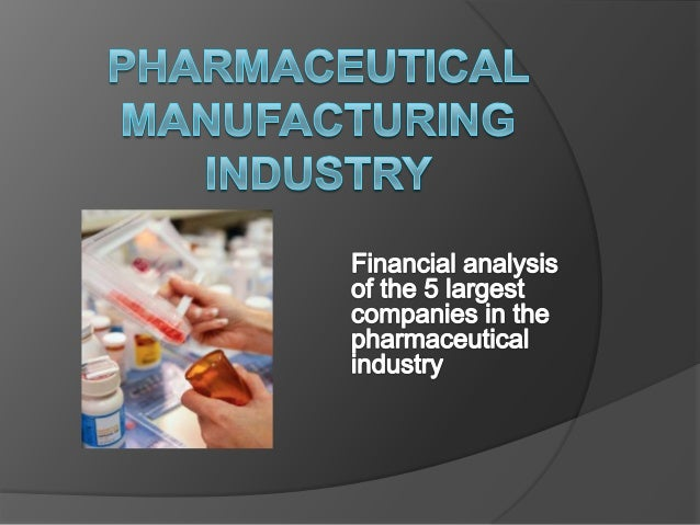 Pharmaceutical Company Analysis